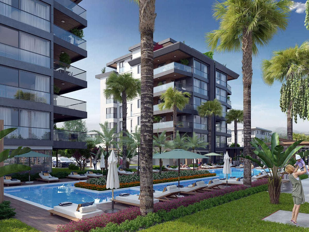 Luxury Apartments Complex in Guzelbahcha